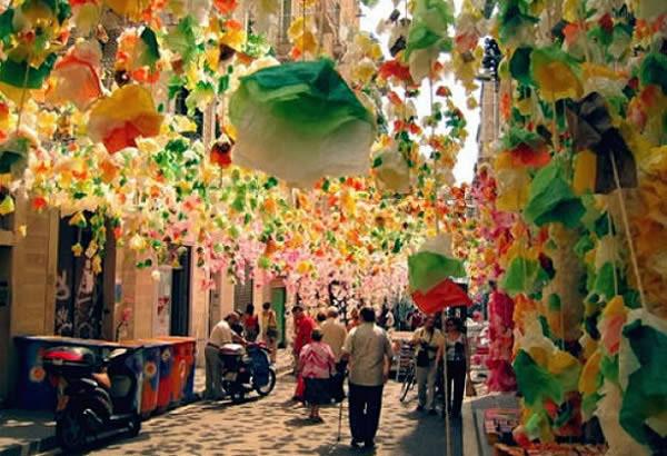 西班牙,巴塞罗那 格拉西亚区(Gràcia)