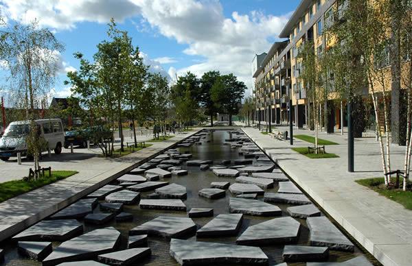 荷兰,恩斯赫德 碎石街