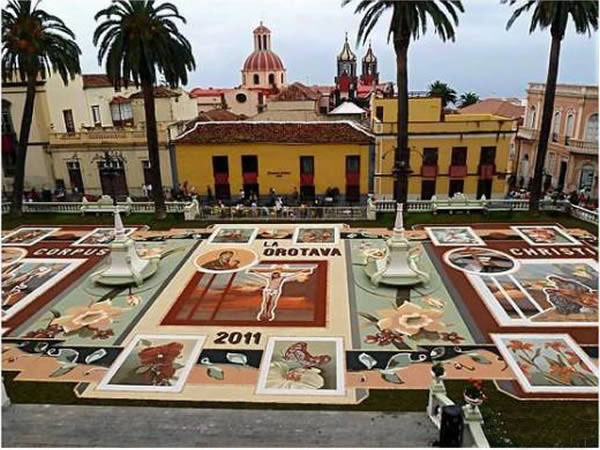 加那利群岛,奥罗塔瓦(La Orotava) 魔毯街(The Magic Carpet Street)
